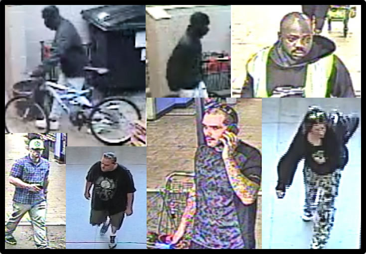 Identities Needed for Theft Suspects in St. Mary's County Needed