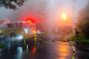 Occupants Displaced After Lightning Strikes House in Wildewood