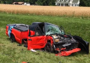 Four Seriously Injured After Head-on Collision in Leonardtown