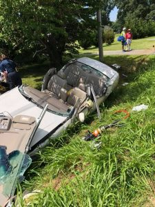 One Flown to Trauma Center After Single Vehicle Crash in Callaway