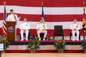 NAVAIR Change of Command: Grosklags Retires, Peters at Helm