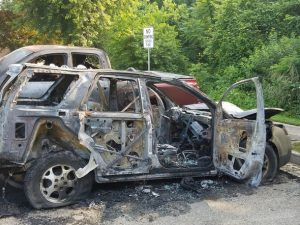 Calvert Vehicle Arson Under Investigation