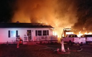 VIDEO: Firefighters Respond to House & Shed Fire in Leonardtown
