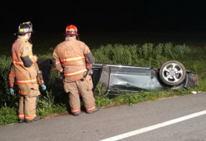 Motor Vehicle Accident in Callaway Sends Driver to Hospital