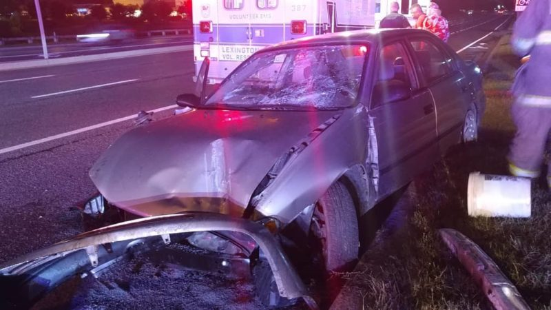 Early Morning Motor Vehicle Accident Sends One to Trauma Center