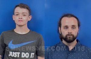 Michael E. Stiles Jr., 19, of Centreville, VA. and Shawn M. Meadows, 28, of Arcata, CA
