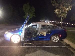 Vehicle Arson in Waldorf Under Investigation
