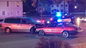 Two People Injured in Head-on Motor Vehicle Accident in Lexington Park