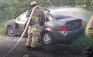 Vehicle Fire Under Investigation in Lexington Park