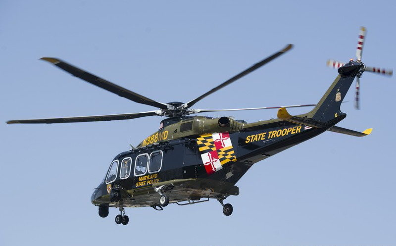 AUDIO: Maryland State Police Helicopter Trooper 7 Assists in Spotting, Rescuing Woman Who Fell Into Water at Cobb Island Pier