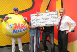 Charles County Fan Wins $1 Million Playing Mega Millions
