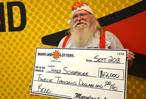 Christmas Comes Early for Port Tobacco Man Winning $12,000 on Keno at Apehangers Bar & Grill
