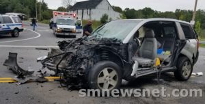 One Injured in Park Hall Motor Vehicle Accident