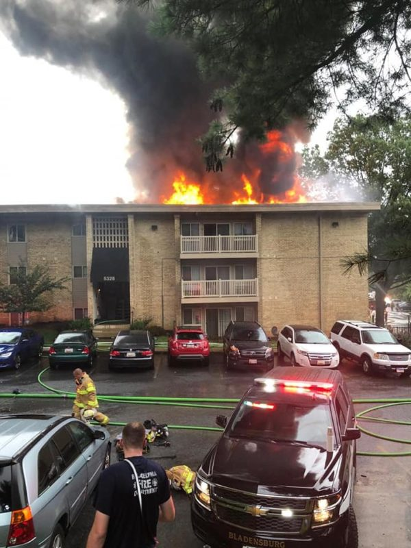 UPDATE: 3-Alarm Apartment Fire in Prince Georges County Ruled Arson