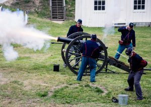 Point Lookout State Park Hosts Artillery Weekend