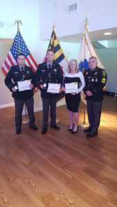 Deputies Receive Awards From Maryland Highway Safety Office