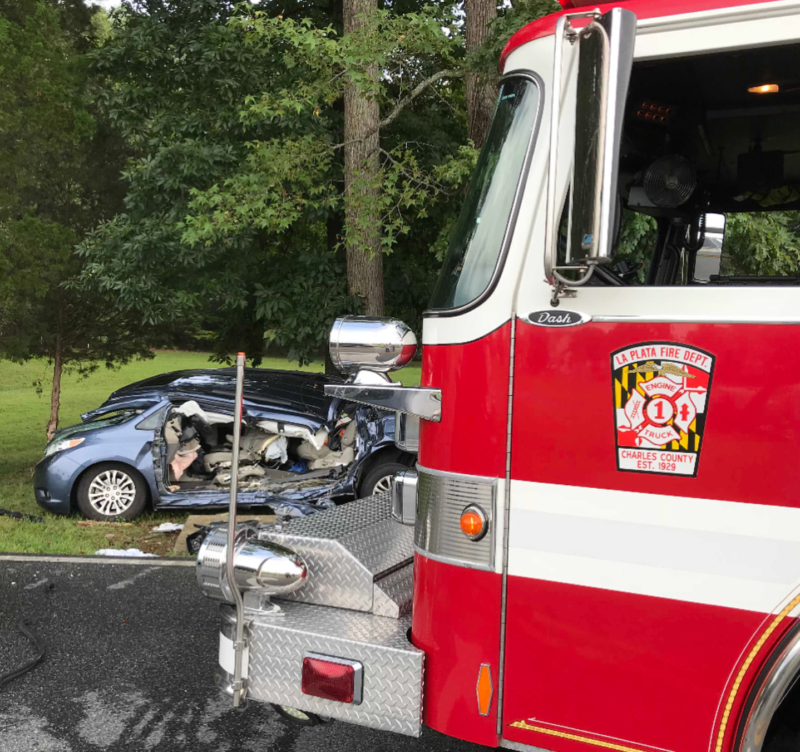 Two Injured After Serious Crash in La Plata | Southern