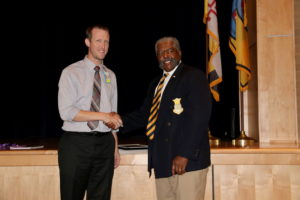 Conley, School Staff Recognized for Supporting  Colleague During Deployment