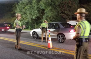 State Police to Conduct Sobriety Checkpoint in St Mary's County this Friday