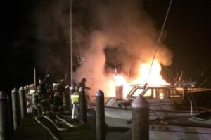 Boat Fire in California Under Investigation