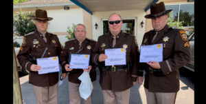 Officers in Charles County Receive Aggressive Driving Prevention Awards