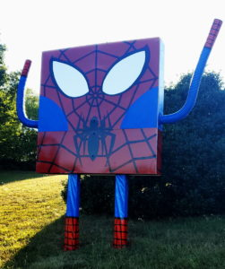 UPDATE: SpongeBob/Spider Man Spotted in St. Mary's County