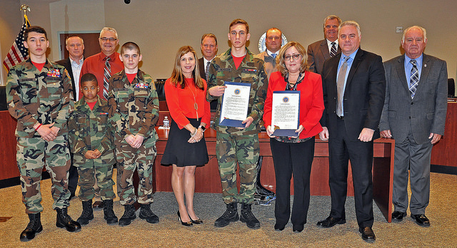 Community Alcohol Coalition Partners and Young Marines Join