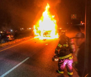 Good Samaritan Rescues Baby from Burning Vehicle in Dunkirk