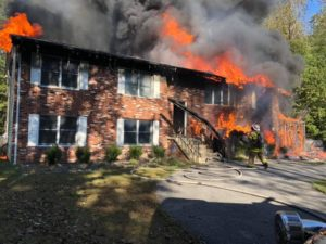 House and Workshop Fire in La Plata Under Investigation