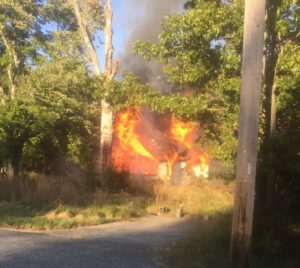 Abandoned Vacant House Fire Under Investigation in Waldorf