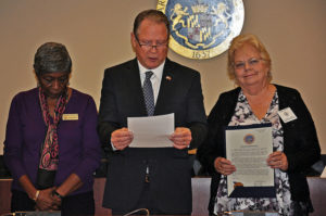 St. Mary's County Commissioners Proclaim National Domestic Violence Awareness Month