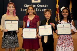 Board honors exemplary students for achievements