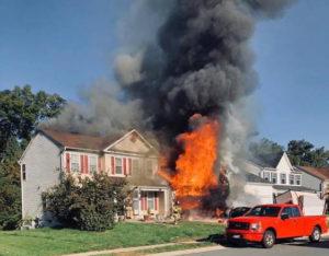 Garage Fire in Waldorf Ruled Accidental