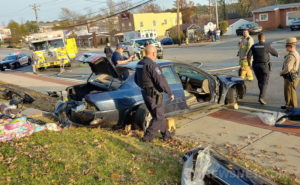 Serious Motor Vehicle Accident in Lexington Park Results in Two Patients Taken to Trauma Center
