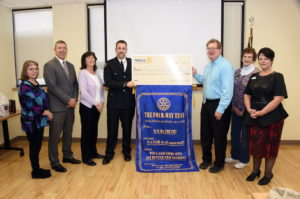 Leonardtown Rotary Club Awards Stephen Vallandingham its Paddle for Heroes Scholarship to Pursue Paramedic Certificate
