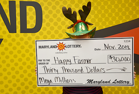 "Charles County's ""Happy Farmer"" played Mega Millions when the jackpot soared past $1 billion and scored a $30,000 prize."