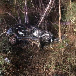 Audio: One Seriously Injured After Crash in La Plata
