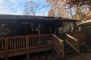 Firefighters Respond to House Fire in Lusby on Thanksgiving