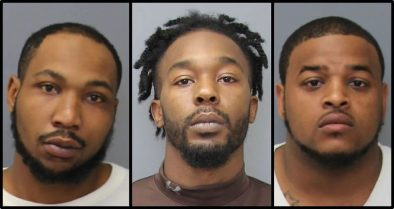 Handgun Recovered After Traffic Stop in Newburg, Three Virginia Men Charged with Felony Theft