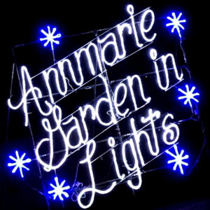 Experience the Glittering Light Art Show that is Annmarie Garden in Lights!