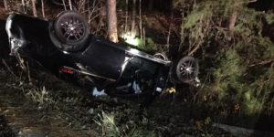Single Vehicle Crash in Mechanicsville Sends Operator to Trauma Center