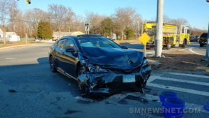 Motor Vehicle Accident Reported in California