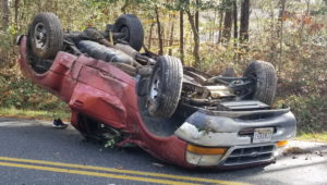 No Injuries Reported After Truck Crashes in Leonardtown