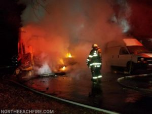Firefighters Rescue Occupant of Early Morning House Fire in Owings