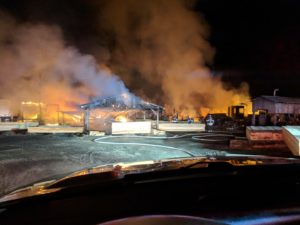 Saw Mill in Mechanicsville Destroyed by Fire Ruled Accidental