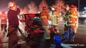 Motor Vehicle Accident in California Sends Two to Area Hospital