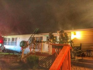 Kitchen Grease Fire in Dunkirk