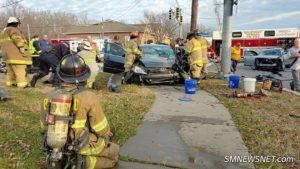 VIDEO: Serious Motor Vehicle Accident in California Injuries Two Children and Three Adults