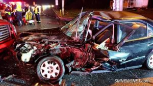 One Injured After Head-on Motor Vehicle Accident in Callaway