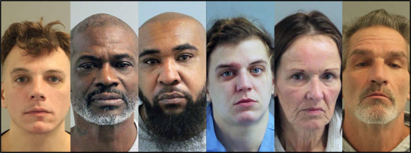 Six Arrested in Anne Arundel County on Drug Charges